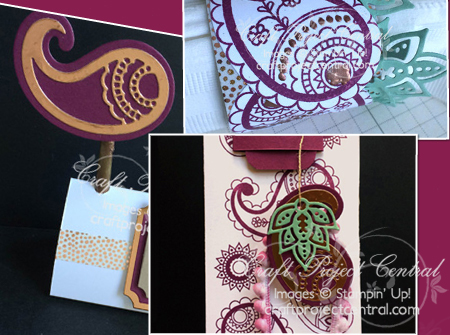 Stampin' Up!, Craft Project Central, Paisleys & Posies