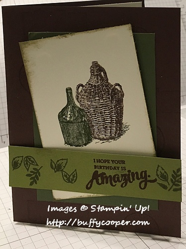 Tuscan Vineyard, Mixed Borders, Stampin' Up!