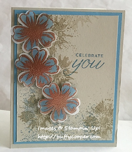 Touch of Texture, Stampin' Up!, Flower Shop