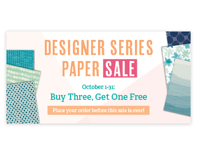 Buy Three Get One Free, Stampin' Up!