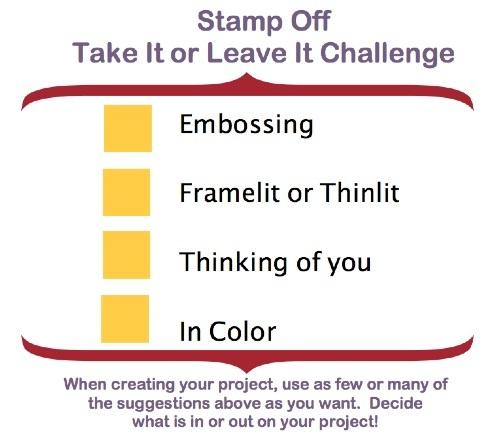 Challenge, Stampin' Up!