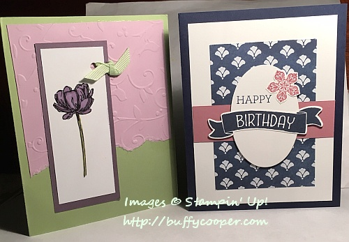 Birthday Cards Stampin' Up!
