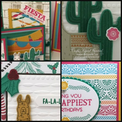 Birthday Fiesta, Stampin' Up!, Craft Project Central