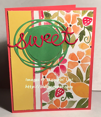 Craft Project Central, Stampin' Up!, Fruit Stand