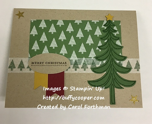 Stampin' Up!, Sketch Challenge