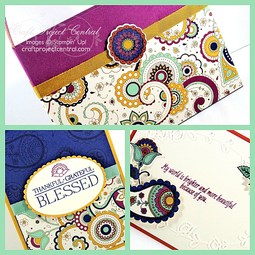 Petals & Paisleys, Stampin' Up!, Craft Project Central