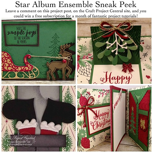 Stampin' Up!, Santa;s Sleigh, Craft Project Central