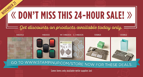 Stampin' Up!, Online Extravaganza, Flash Sales