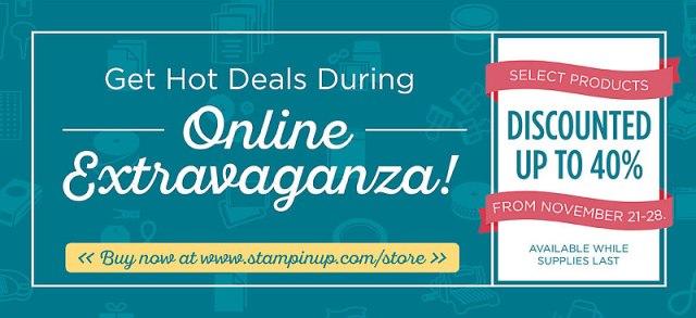 Online Extravaganza, Stampin' Up!