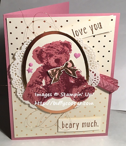 Baby Bear, Stampin' Up!