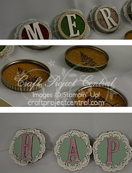 Stampin' Up!, Craft Project Central, Jar of Cheer