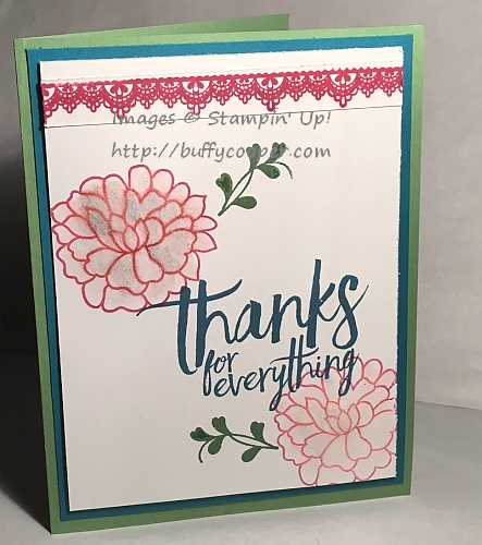 All Things Thanks, Delicate Details, So in Love, Stampin' Up!
