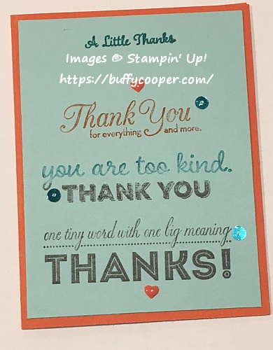 Craft Project Central, One Big Meaning, Stampin' Up!