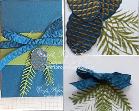 Pretty Pines, Stampin' Up!, Craft Project Central