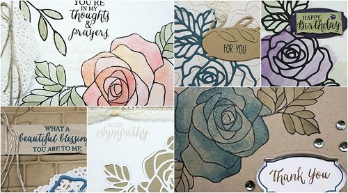 Rose Wonder, Stampin' Up!, Craft Project Central