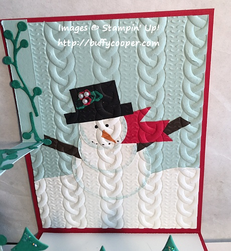 Stampin' Up!, Christmas Cards, Snow Place