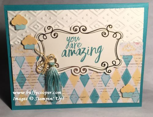 All Things Thanks, Stampin' Up!, Cupcakes & Carousels