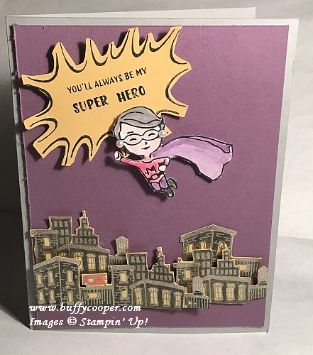 Everyday Hero, Stampin' Up!