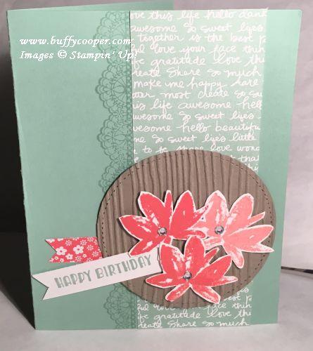 Avant Garden, Custom Tee, Delicate Details, Stampin' Up!