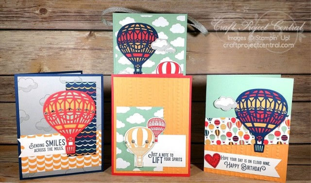 Stampin' Up!, Craft Project Central, Lift Me Up