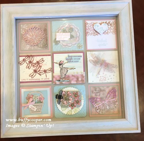 Falling in Love, Dragonfly Dreams, Beautiful You, Stampin' Up!