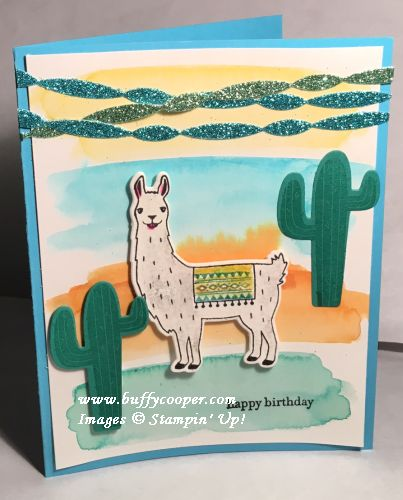 Birthday Fiesta, Stampin' Up!