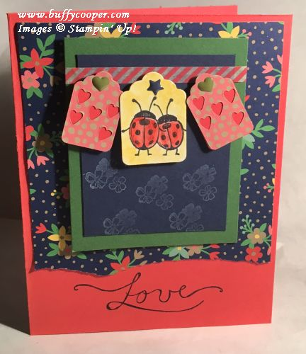 Love You Lots, Weather Together, Stampin' Up!