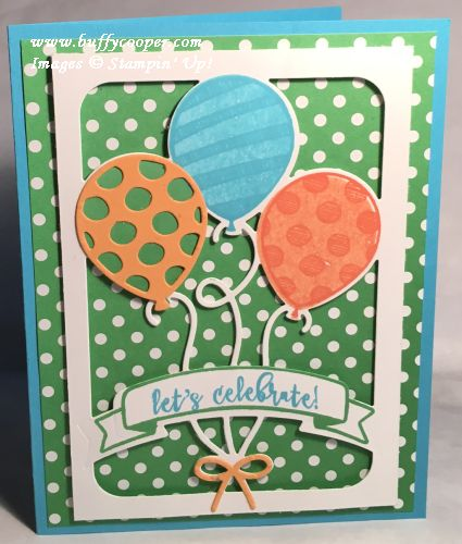 Balloon Adventures, Stampin' Up!