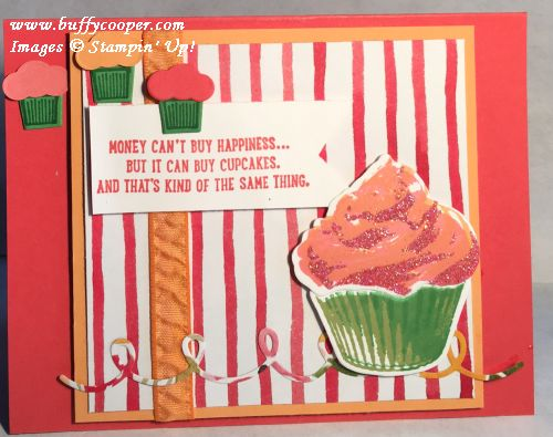 Sweet Cupcake, Stampin' Up!