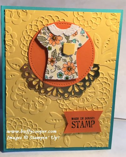 Stampin' Up!, Custom Tee, Sale-a-bration