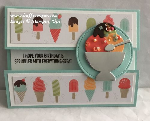 Cool Treats, Stampin' Up!