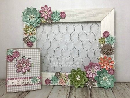 Succulent Garden, Stampin' Up!, Craft Project Central