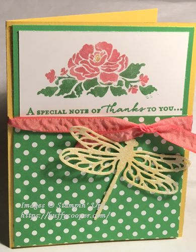 Floral Phrases, Stampin' Up!