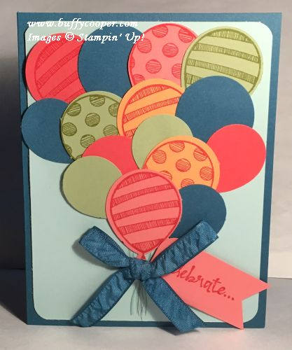 Balloon Adventures, Beautiful You, Stampin' Up!