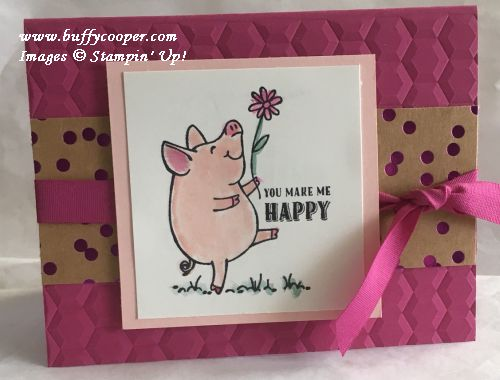 This Little Piggy, Stampin' Up!