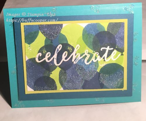 Balloon Celebration, Stampin' Up!
