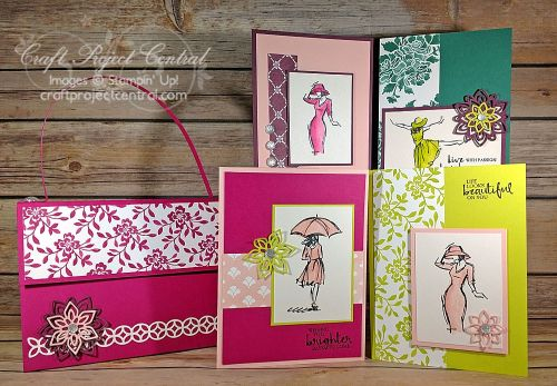 Beautiful You, Craft Project Central, Stampin' Up!