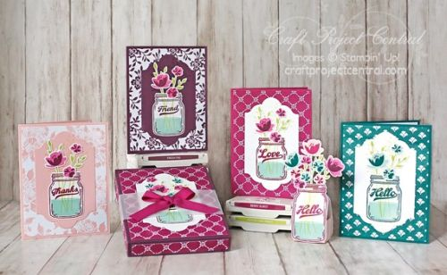 Stampin' Up!, Craft Project Central, Jar of Love