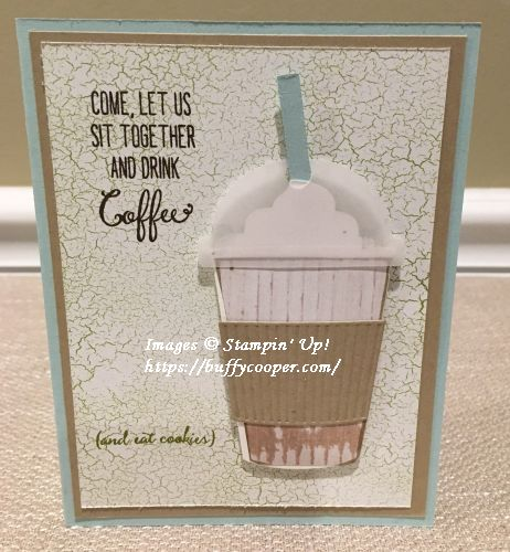 Coffee Cafe, Stampin' Up!
