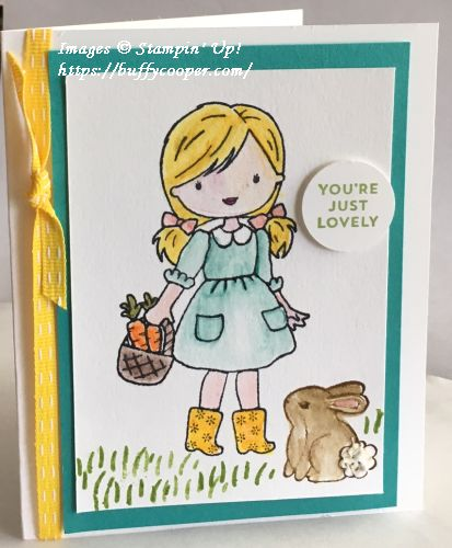 Garden Girl, Stampin' Up!, Oh So Eclectic
