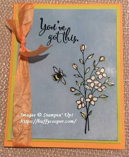 Stampin' Up!, Touches of Texture, You've Got This