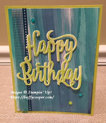 Happy Birthday, Stampin' Up!