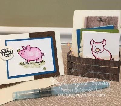 This Little Piggy, Stampin' Up!, Craft Project Central