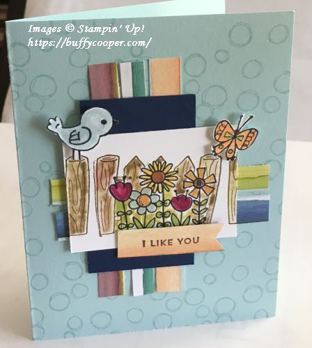 Garden Girl, Stampin' Up!, Oh So Eclectic, Craft Project Central