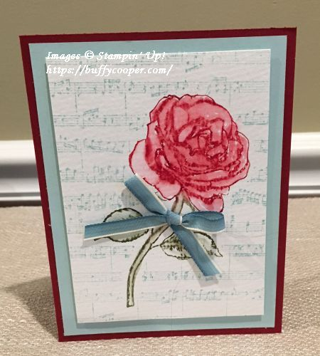 Graceful Garden, Sheet Music, Stampin' Up!