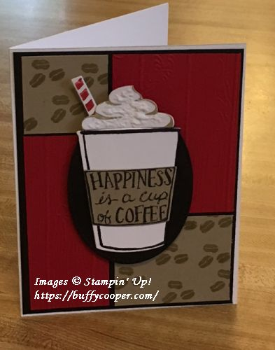 Coffee Cafe, Stampin' Up!, CPC73