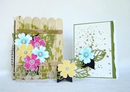 Craft Project Central, Flower Shop, Stampin' Up!