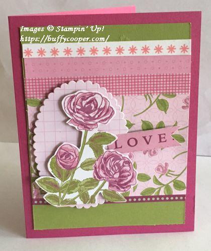Petal Garden Memories & More Card Pack, Stampin' Up!