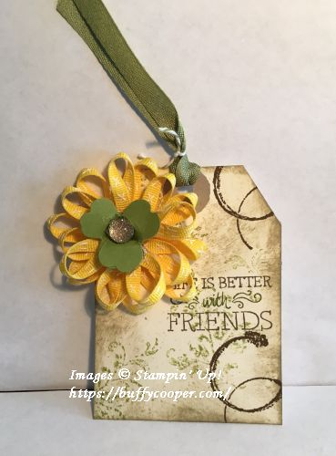 Just Add Text, Timeless Textures, Stampin' Up!