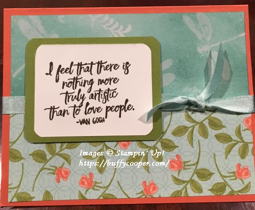 Just Add Text, Awesomely Artistic, Stampin' Up!
